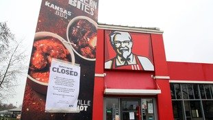 KFC store closures to continue for rest of the week
