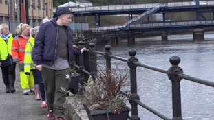 Family search River Foyle for missing brother