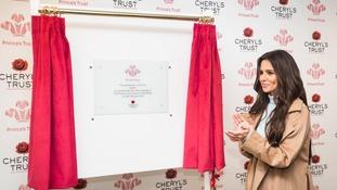 Cheryl opens new Prince's Trust centre