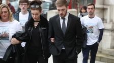 Alfie's parents arrive at court