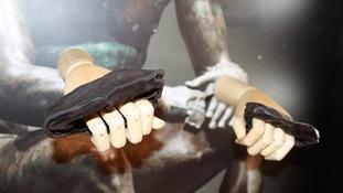 Roman boxing gloves.