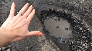 There are several roads in Nettleham that are affected by potholes.