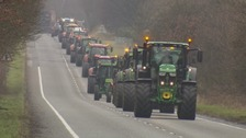Lockerbie tractor parade raises thousands for stillbirth charity