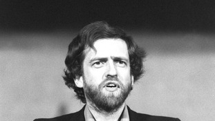 Mr Corbyn in the 1980s, when his meetings with a Czech contact took place.