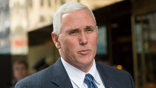 Pence was ready to meet with representatives from North Korea.