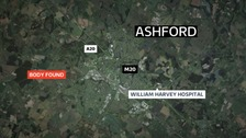 M20 remains shut after body found near Ashford