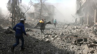 UN describes eastern Ghouta as 'hell on earth' as Syrian government attacks kill 260