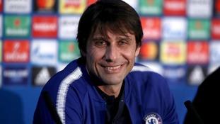 Antonio Conte is feeling optimistic.