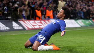 Willian scored for Chelsea on the night.