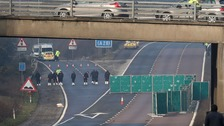 M20 reopens after body found near Ashford