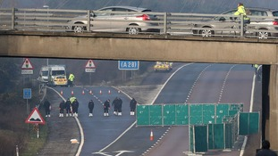 M20 reopens in both directions after police investigation