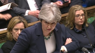 Theresa May supports finding a political situation to the violence in Syria.