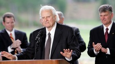 US evangelist Billy Graham dies aged 99