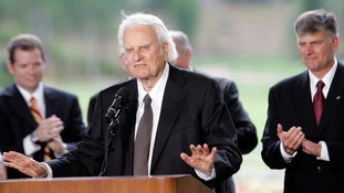 Billy Graham has died aged 99.
