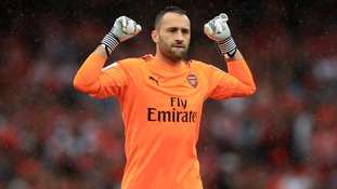 David Ospina will start against Manchester City.