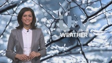 Dry but temperatures falling