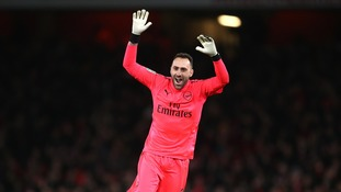 Arsene Wenger confirms David Ospina will start in goal for Arsenal ahead of the Carabao Cup final against Man City