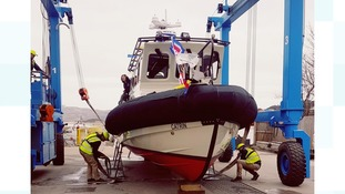 New high speed boat launched to patrol fisheries in Wales