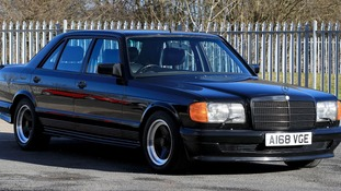 A Mercedes Benz AM, once owned by George Harrison, which is being sold by Omega Auctions