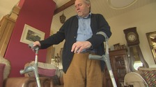 Patient left with one hip says he feels 'abandoned' by NHS