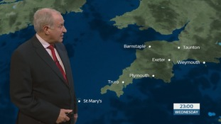 Temperatures close to freezing in the South West