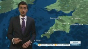 Chilly and possibly frosty start in the South West
