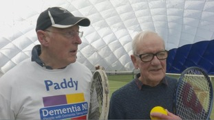 First-of-its-kind dementia friendly tennis club opens