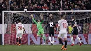 David De Gea was his impressive self as Manchester United earned a goalless draw in southern Spain against Sevilla