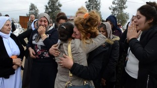 Families reunite as children abducted and tortured by ISIS in Iraq slowly return