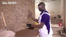 Meet the refugee who became the best plasterer in Britain
