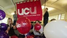Welsh University lecturers strike over pension scheme