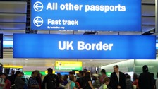 Net EU migration at lowest level for five years
