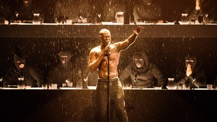 Stormzy did the closing performance at the Brits.