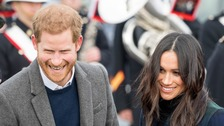 Package to Harry and Meghan treated as 'racist hate crime'
