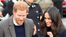 Police intercept 'substance' sent to Prince Harry and Meghan Markle