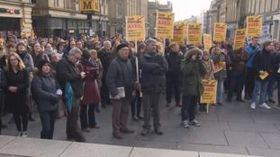 University staff across the North East go on strike over pensions