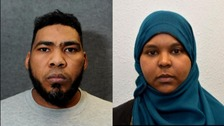 Internet dating couple jailed for plotting terror attack on Britain