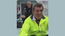 Two grandads to row across Atlantic for charity