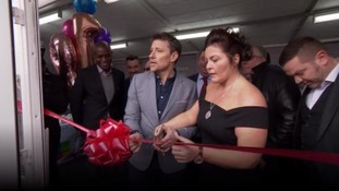Hundreds turn out to open cancer support centre centre in memory of fundraiser Harry Moseley