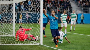 Celtic crash out of Europa League after heavy loss to Zenit St Petersburg in Russia