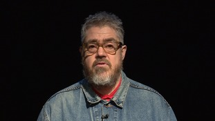 Phill Jupitus popped into see us at ITV News Anglia