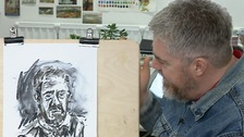 Comedian Phill Jupitus reveals his passion for art.