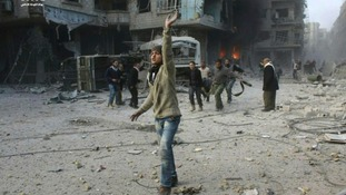 Thousands have been injured in the bombing of Ghouta