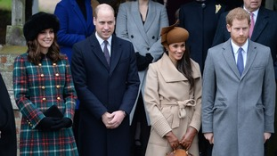 The younger members of the Royal family