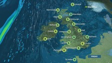 Weather: A clear, cold and frosty Friday