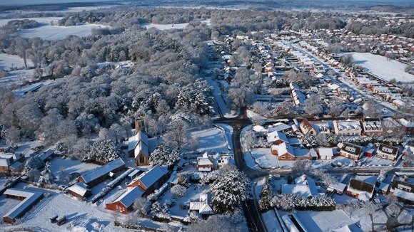 Taverham taken from the Octocopter