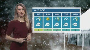 Feeling very cold over next few days. Sophia has the latest update