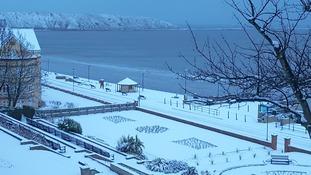 Snow at Filey