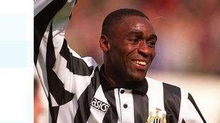 Newcastle United legend Andy Cole 'indebted' to his nephew after kidney transplant