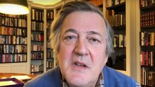 Stephen Fry reveals prostate cancer battle